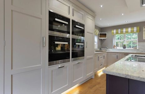 fitted kitchen with 4 ovens