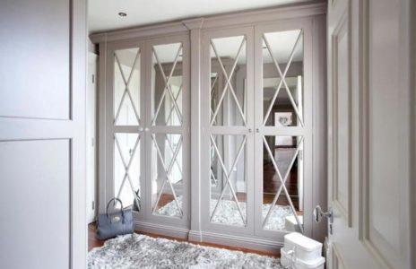 Bespoke glass wardrobes