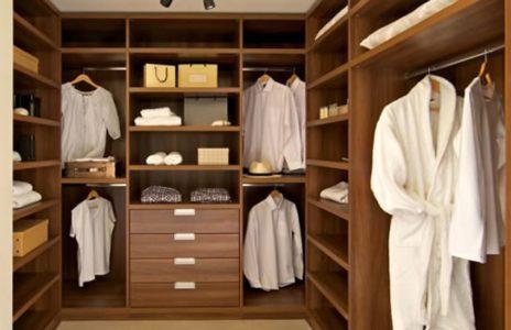 Bespoke walk-in wardrobe