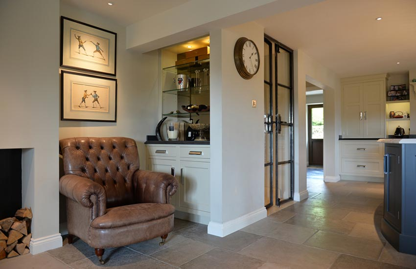 kitchen diner with seating area
