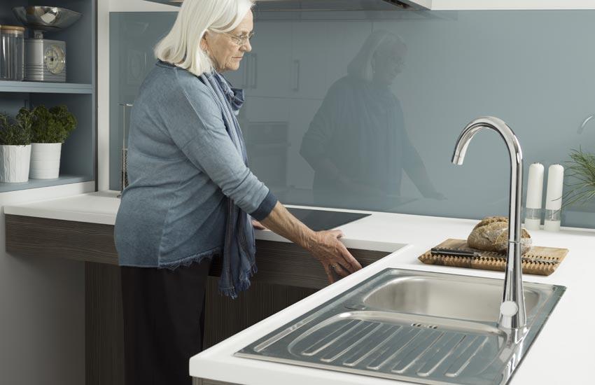 Kitchen demonstration